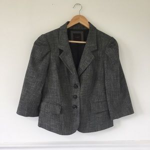 The Limited Collection Heather Grey Blazer Jacket